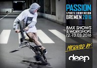 BMX SHOWS & WORKSHOPS @ PASSION